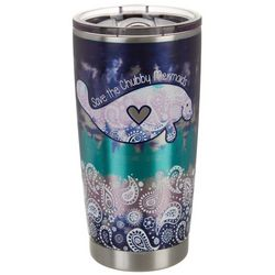 Chubby Mermaids 20 oz Stainless Steel Chubby Mermaid