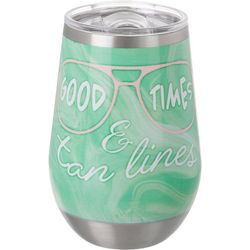 12 oz. Stainless Steel Good Times Wine Cup