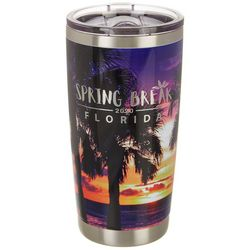 Tropix 20 oz. Stainless Steel Spring Break Sunset Tumbler