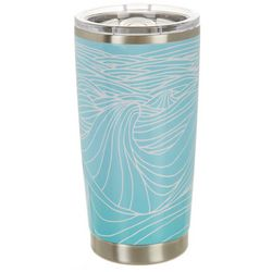 Meteor 20 oz. Stainless Steel Classic Wave Tumbler