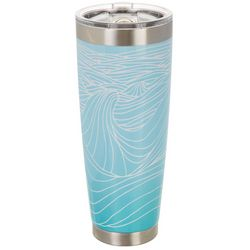 Meteor 30 oz. Stainless Steel Classic Wave Tumbler