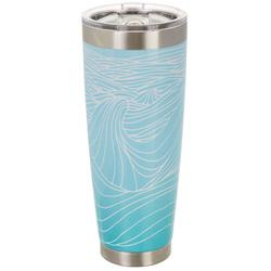 30 oz. Stainless Steel Classic Wave Tumbler