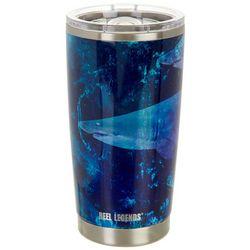 Reel Legends 20 oz. Stainless Steel Sharks Tumbler