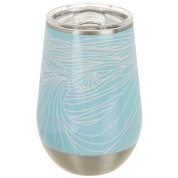 Meteor 12 oz. Stainless Steel Classic Wave Wine Tumbler