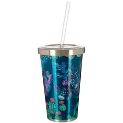 Meteor 17 oz. Stainless Steel Cacti Colorful Tumbler