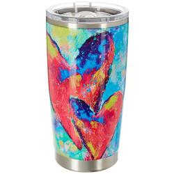 20 oz. Stainless Steel Art Throb Tumbler