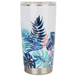 20 oz. Stainless Steel Palm Leaf Tumbler