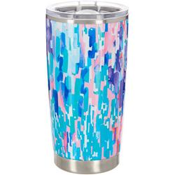 20 oz. Stainless Steel Painted Rain Tumbler