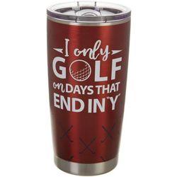 20 oz. Stainless Steel Golf Days Tumbler