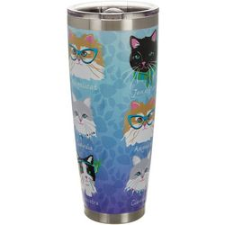 Tropix 30 oz. Stainless Steel Catastic Travel Tumbler