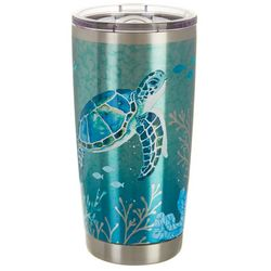 Coastal Home 20 oz. Stainless Steel FantaSea Tumbler