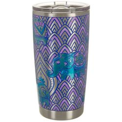 Juniper + Lime 20 oz Stainless Steel Elephant Travel Tumbler