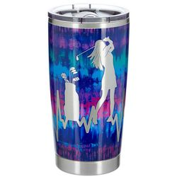 Nukuze 20 oz. Stainless Steel Golf Pulse Travel Tumbler