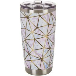 20 oz. Stainless Steel Cut Marble Tumbler