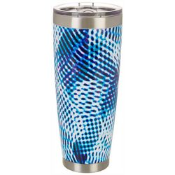 Nukuze 30 oz. Stainless Steel Grid Lock Tumbler