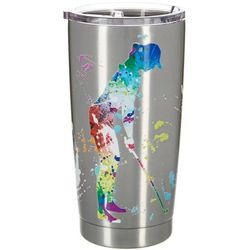 Nukuze 20 oz.  Hole In One Stainless Steel Travel Tumbler
