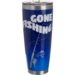 30 oz. Stainless Steel Gone Fishing Tumbler