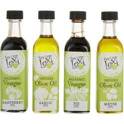 4-pc. Vinegar & Olive Oil Gift Set