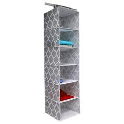 Home Basics Arabesque 6-Shelf Closet Organizer