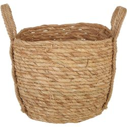 Round Natural Small Basket