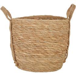 Round Natural Medium Basket