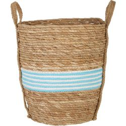 JD Yeatts Round Pinstripe Small Basket