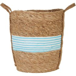 JD Yeatts Round Pinstripe Medium Basket
