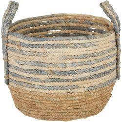 JD Yeatts Round Stripe Small Basket