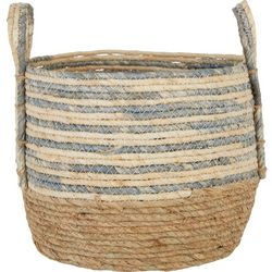 JD Yeatts Round Stripe Medium Basket