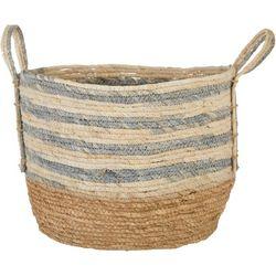 Round Stripe Large Basket