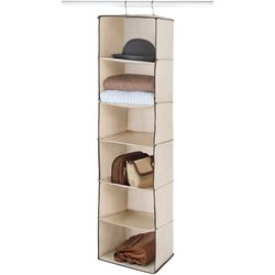 Whitmor 6 Section Hanging Accessory Shelf Storage