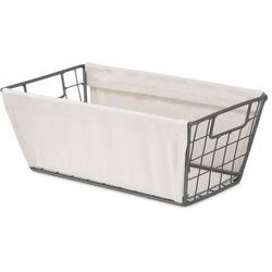 Wire Canvas Liner Small Shelf Tote