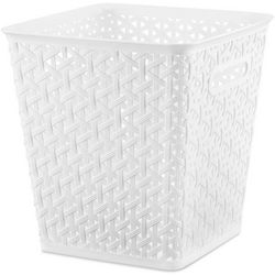 Whitmor Cross Stitch Resin Cube Storage Bin