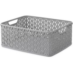 Resin Link Chain Shelf Tote