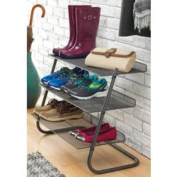 3 Tier Mesh Storage Shelves