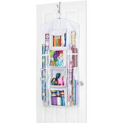 Hanging Gift Wrap Storage Organizer