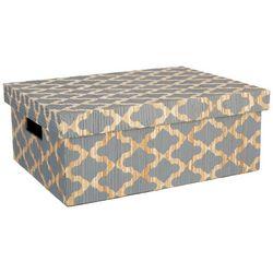 Coastal Home Medium Trellis Rectangular Decorative Box