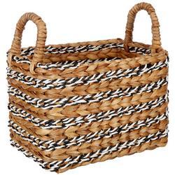Small Rectangular Water Hyacinth Basket
