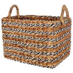 Large Retangular Water Hyacinth Basket