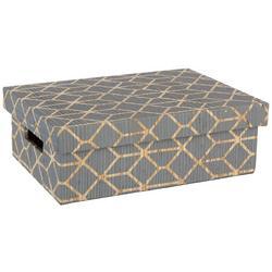Small Geometric Rectangular Decorative Box