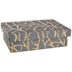 Coastal Home Extra Small Geometric Rectangle Decorative Box