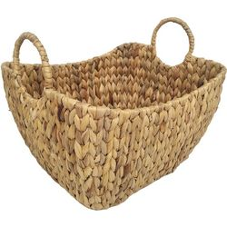 12'' Water Hyacinth Woven Basket