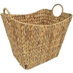 Coastal Home 16'' Water Hyacinth Woven Basket