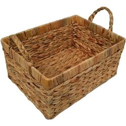 7'' Water Hyacinth Woven Basket