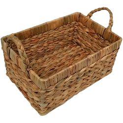 6.25'' Water Hyacinth Woven Basket