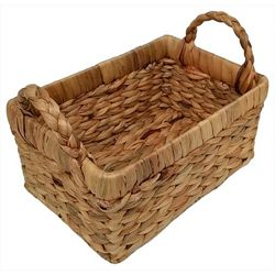 Coastal Home 5.5'' Water Hyacinth Woven Basket