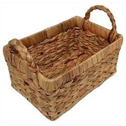5.5'' Water Hyacinth Woven Basket
