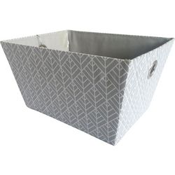 8.75'' Geometric Print Decorative Storage