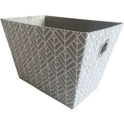 8.5'' Geometric Print Decorative Storage