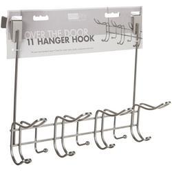 11 Hook Over The Door Hanging Rack